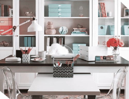 STORAGE & ORGANIZATION IDEAS FOR YOUR HOMEOFFICE